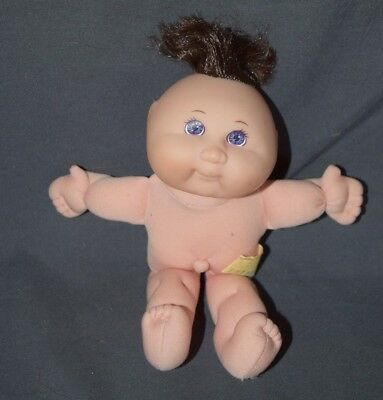 """Vintage 1995 Mattel First Edition Mini Cabbage Patch Kid Doll 7"""" Violet Eyes CPK"""
