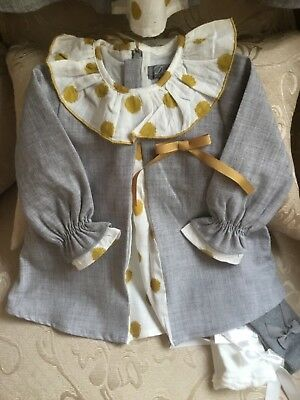 Spanish baby girls dress 6-24 months available  BNWT Romany