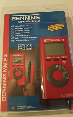 Digital Multimeter BENNING  NEU  OVP