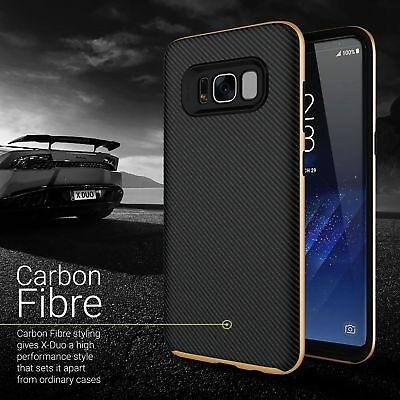 Ultra Slim Silicone Carbon Fibre Case For Samsung Galaxy S8 Plus S7 S6 A5 J3 J5