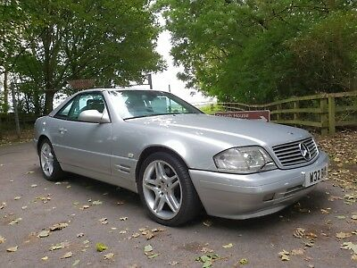 2000/w Mercedes Sl320 Amg R129, Stunning Car, Fmbsh, With Hardtop.