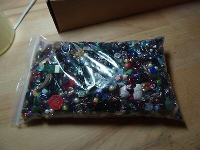 1kg mixed loose gems gemstones scrap gold recycled crafts