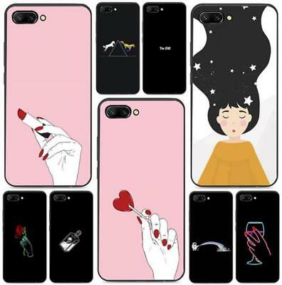 Girl heart Lovely Cute Soft TPU Case For Huawei Mate20 P8 P9 P10 P20 Honor 10 9