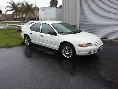1998 Plymouth Breeze Cloth door panel trim White, 1998 Plymouth Breeze, 2.0 Liter Engine (Automatic), 4 cylinders