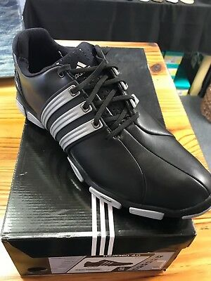 Adidas Tour 360 4.0 Mens Golf Shoes 816227 Black Size 10 NEW