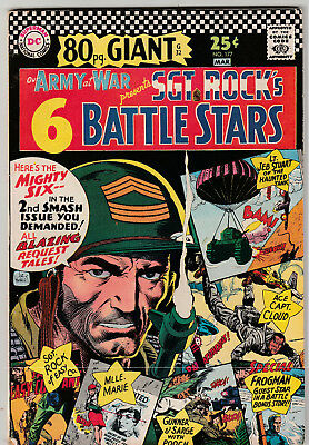 Our Army At War #177 – 80 Pg. Giant (Feb 1967 DC Comics) FN/VF 7.0