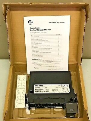 New Allen Bradley 1756-OF6VI /A ControlLogix Isolated Analog Output Module
