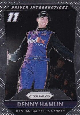 Denny Hamlin - 2016 Panini Prizm Racing, Driver Introductions, #74