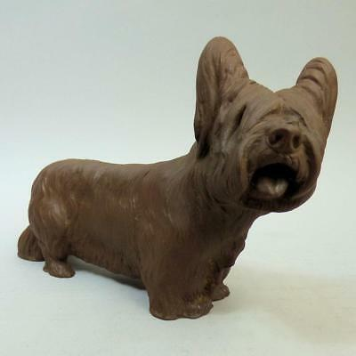Antique Meissen Bottger Terrier Dog Figure Q236