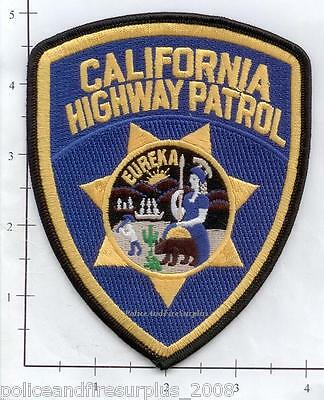 California - California Highway Patrol CA State Police Patch  CHiPs  CHP