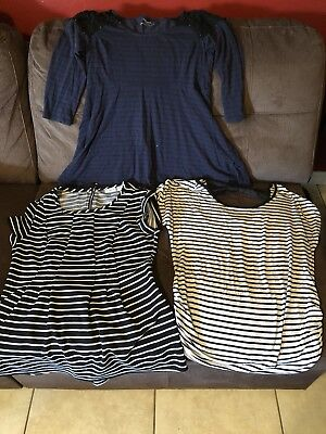 maternity clothes lot size medium 3 items
