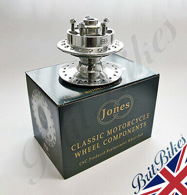 Genuine Jones Norton Commando CNC OEM Front Hub Assembly Disc Models