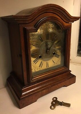 Antique Mantle Clock Made by H.A.C. 14 day Strike Württemberg
