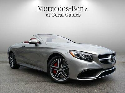 S-Class AMG S 63 2017 Mercedes-Benz S-Class AMG S 63 1,145 Miles AMG Alubeam Silver Convertible T