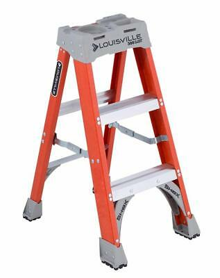 Prime Louisville Ladder 6 Ft Fiberglass Step Ladder With Project Pabps2019 Chair Design Images Pabps2019Com
