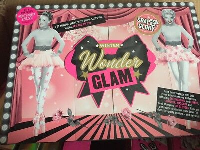 soap and glory winter wonder glam giftset make-up gift set New