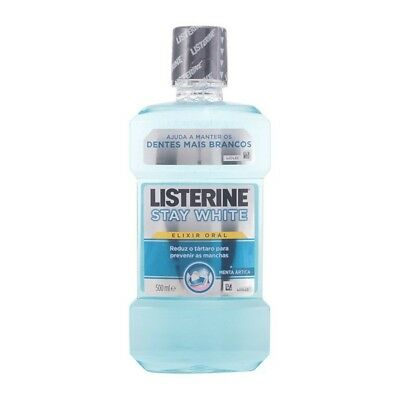 Bain de Bouche Stay White Listerine 500ml