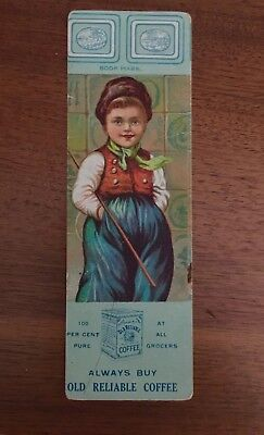 1912 OLD RELIABLE COFFEE Bookmark