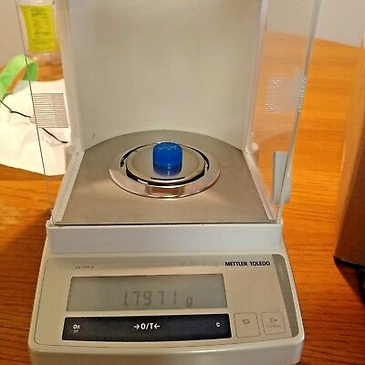 Mettler Toledo AB104S Precision Analytical Balance Digital Scale w/power adapter