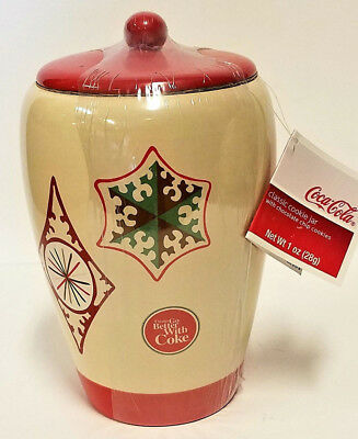 Coca-Cola Holiday Cookie Jar Things Go Better With Coke