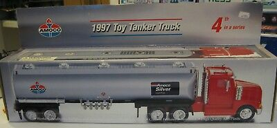 1997 Toy Tanker Truck ~ AMOCO 4th in Series ~ MINT IN BOX