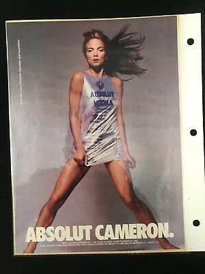 Vintage Absolut Vodka Ad Collection 7 Rare Ads