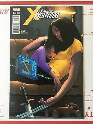 Rare All-New Wolverine #20 1:10 Kirk Variant Laura Kinney Gabby Cover Marvel X23