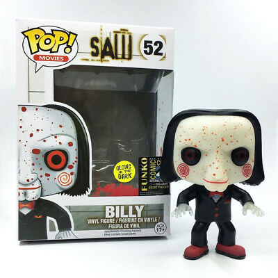 Funko pop #52 SAW BILLY San Diego Comic Con SDCC Exclusive 2014 GLOW IN THE DARK