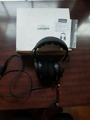 Motorola AARMN4032A Medium Weight Dual Muff Noise Cancelling Headset New In Box