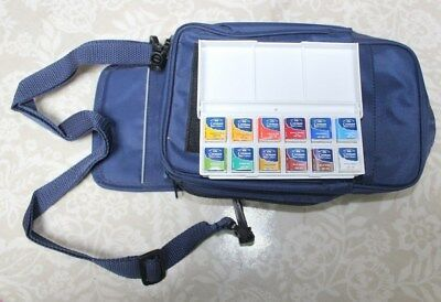WINDSOR and NEWTON WATER COLOUR SET IN A CARRY CASE
