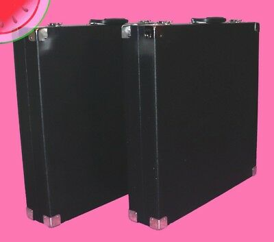"""PAIR of 24"""" x 24"""" x 5"""" Trade Show HARD CARRYING CASE Travel Storage Display"""