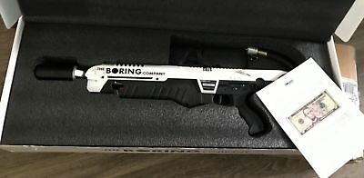 The Boring Company Not a Flamethrower Order & Instruction Manual Elon Musk