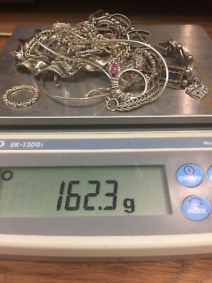 BEAUTIFUL Sterling Silver Sellable Lot 162.3 Grams