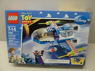 Lego Toy Story Buzzs Star Command Spaceship 7593 100 Complete W