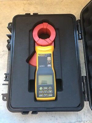Fluke 1630-2 FC Earth Ground Loop and Leakage Clamp with Hard Case