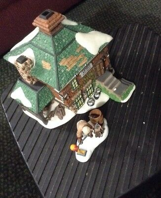 Mint In Box Dept 56 Revere Silver Works Set of 2 New England Village Series
