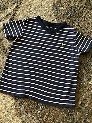 Ralph Lauren Toddler Boy 3T V-neck