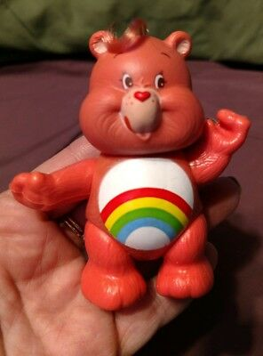 Care Bear Posable Cheer Bear Figure 1983