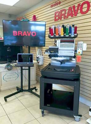 Melco Bravo C 16 Needle Embroidery Machine with FREE LAPTOP Financing Available