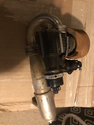 Rb Ws7 Nitro Engine With Bulk Clutch And 2097 Pipe