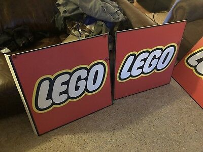 Toys R Us Lego Sign