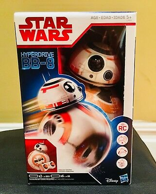 Hasbro Star Wars EP8 The Last Jedi BB-8 Hyperdrive Remote Control.Mint. A+Seller