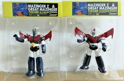 Super Robot Mazinger Z + Great Mazinger 3.5 inches high action figures