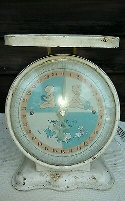 Vintage Baby Scale 30 Pounds Maximum