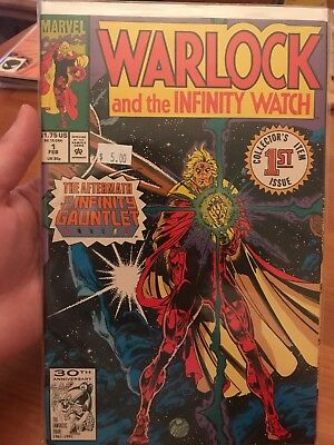 WARLOCK and the INFINITY WATCH #1 aftermath of Infinity Gauntlet Avengers War