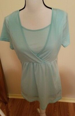 Nursing Tops, Size Large but more like a Size Medium (Lot of 2)