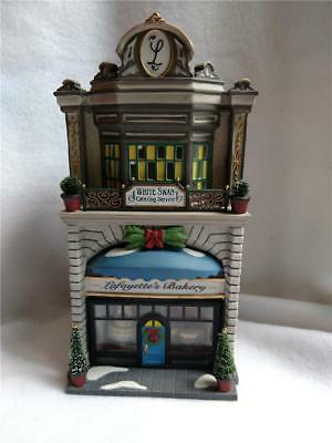 1999 Department 56 Christmas in the City Series Lafayette's Bakery No Box/Light
