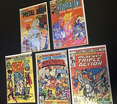 Bronze age comic lot ft. Guardians of the Galaxy, The Phoenix, Metal Men + more