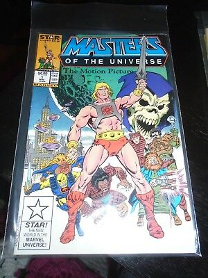 Masters of the Universe The Motion Picture #1 Marvel Star Comics 1986 MOTU Movie