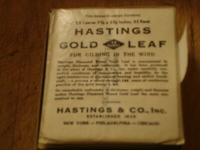 hastings 23 Karat gold leaf